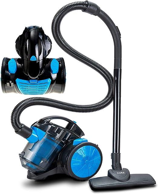 Aspiradora de suelo 700 W, filtro HEPA 13, cepillo 2 en 1 ...