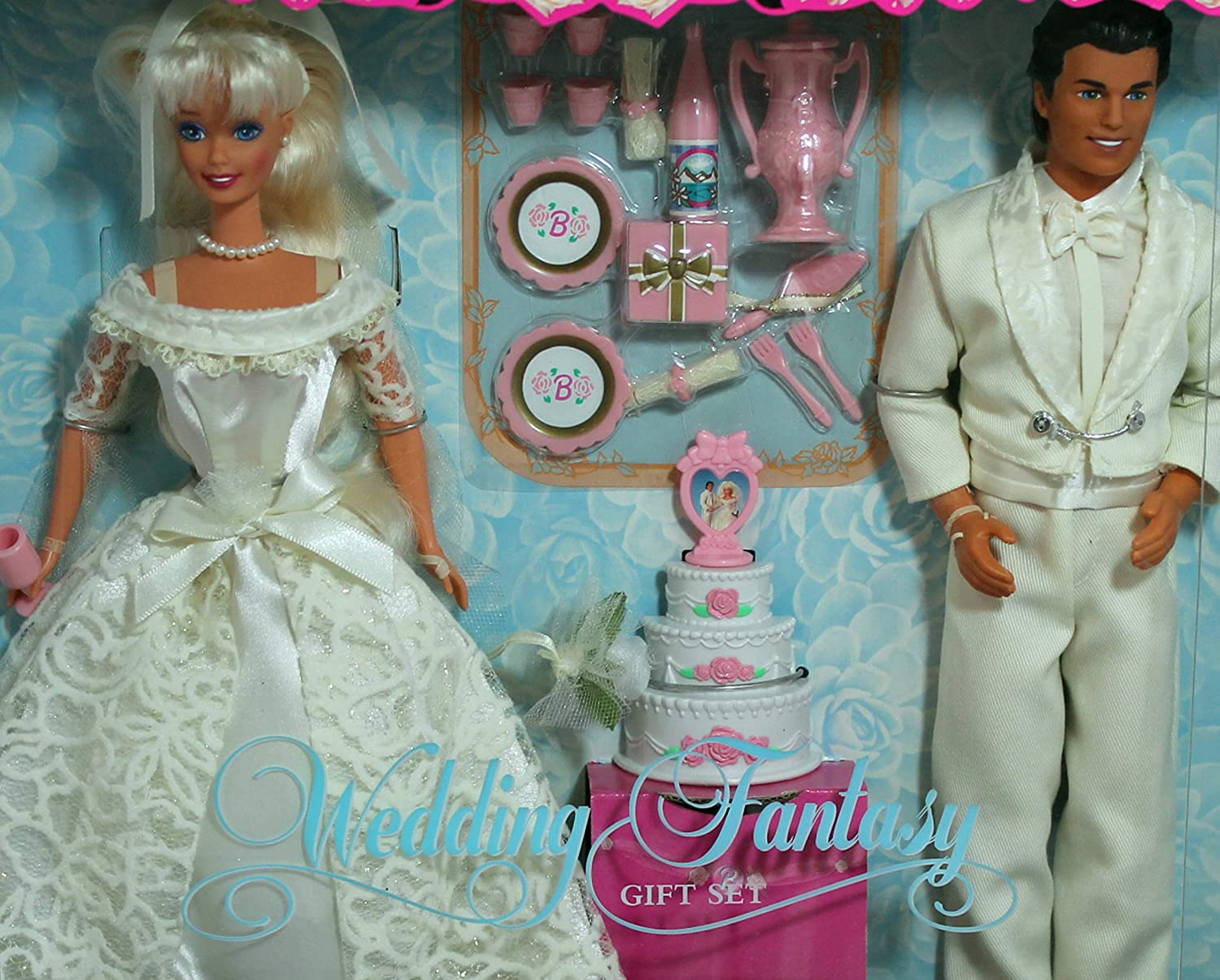 Amazon.es: Barbie and Ken Wedding Fantasy Gift Set Special Edition ...