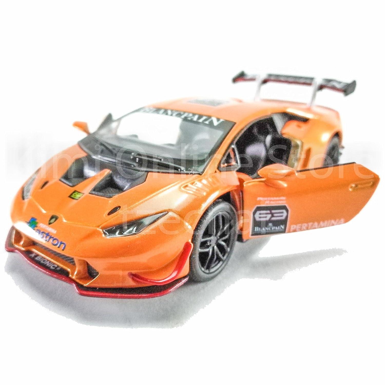 Buy Kinsmart Lamborghini Huracan Lp620 2 Super Trofeo Orange Online