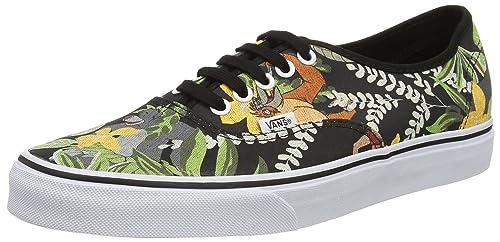 41e9361f6 Vans Authentic - Zapatillas de Deporte de Lona para Mujer Negro Noir  (Disney The Jungle Book Black) 34