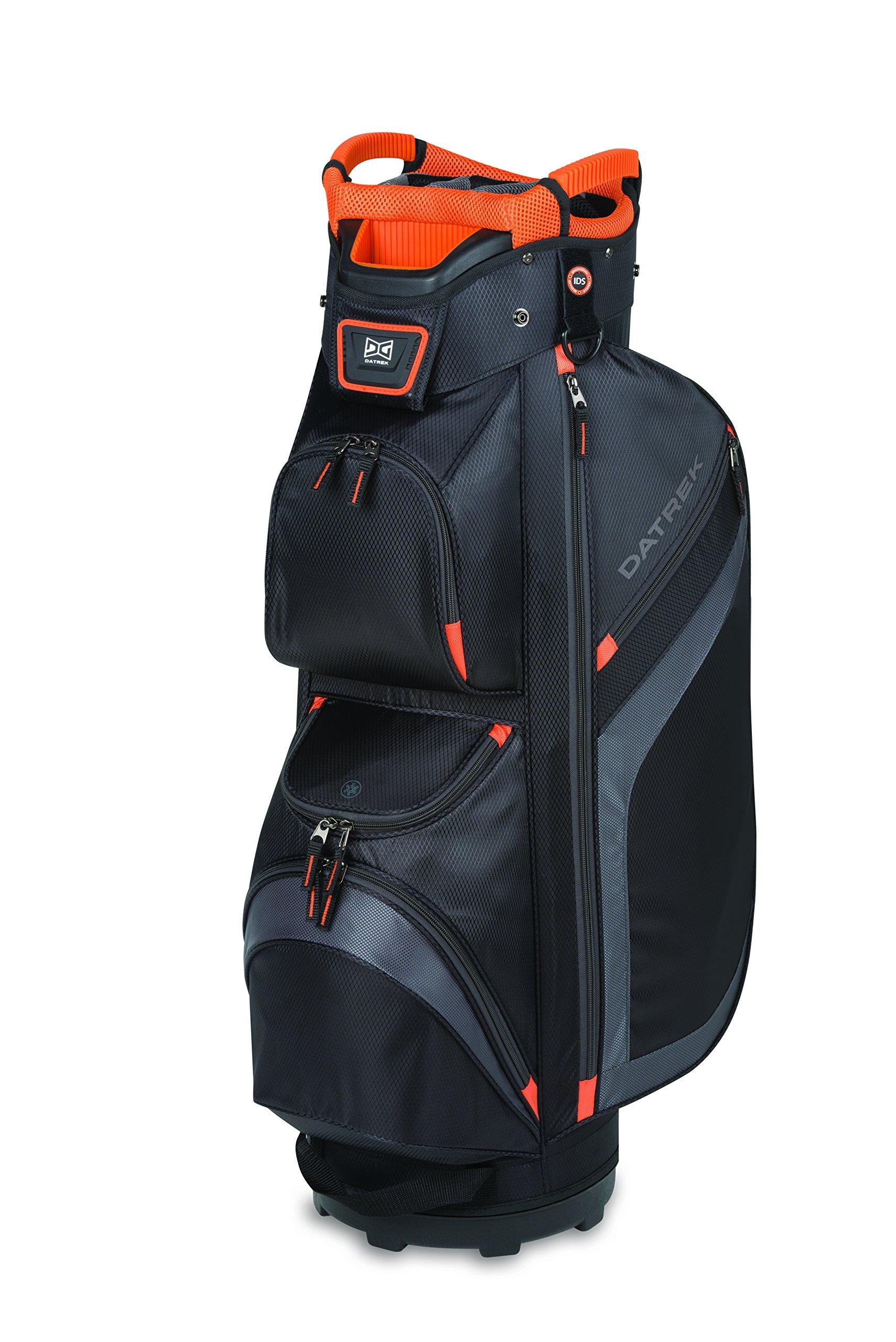 Datrek DG Lite II Cart Bag Black/Charcoal/Orange DG Lite II Cart Bag by Datrek