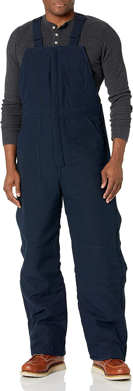 Amazon Com Bulwark Fr Men S Lightweight Nomex Fr Deluxe Insulated Bib Overall Clothing