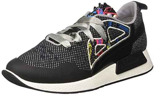 Barracuda BD0723 Women/'s Low Trainers 5 UK White