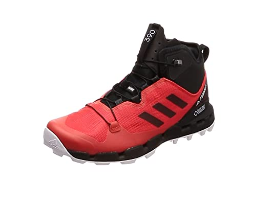 los angeles 090fe 00ffb Adidas Terrex Fast Mid GTX-Surround, Botas de Senderismo para Hombre, Rojo (