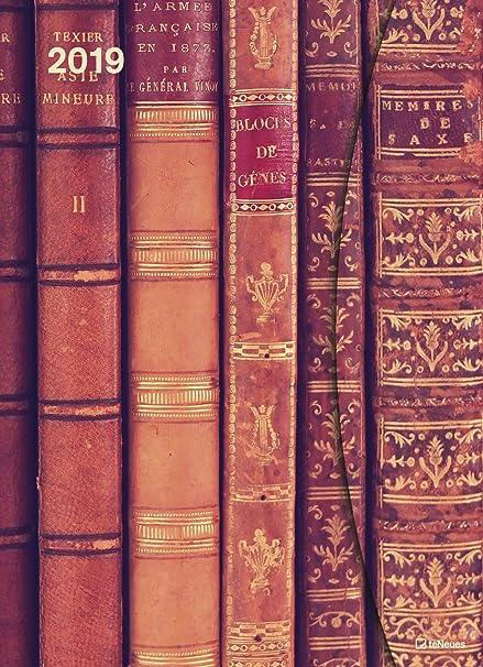 Funda Calendario Big - Antique Books con cierre magnético ...