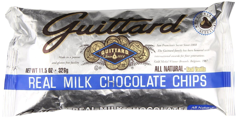 Amazon.com : Guittard Milk Chocolate Maxi Chips, 11.5 Ounce ...