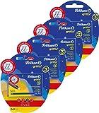 4 Packungen Pelikan 960575 - Griffix Tintenschreiber Patronen 4 x 2er Blister