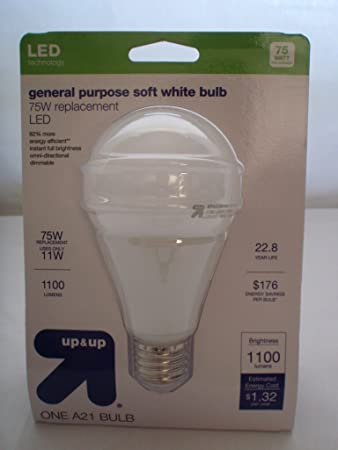 Amazon.com: Up & Up Light foco LED Propósito general Soft ...