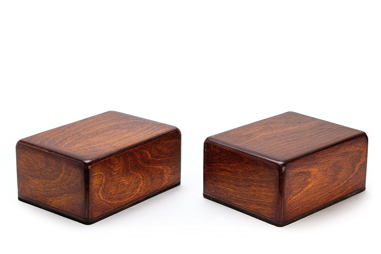 Traveler Handstand & Yoga Blocks (2 Ultralight Non-Slip Wooden