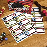 Neviti 673073 The Beano Dennis Menace Stickers