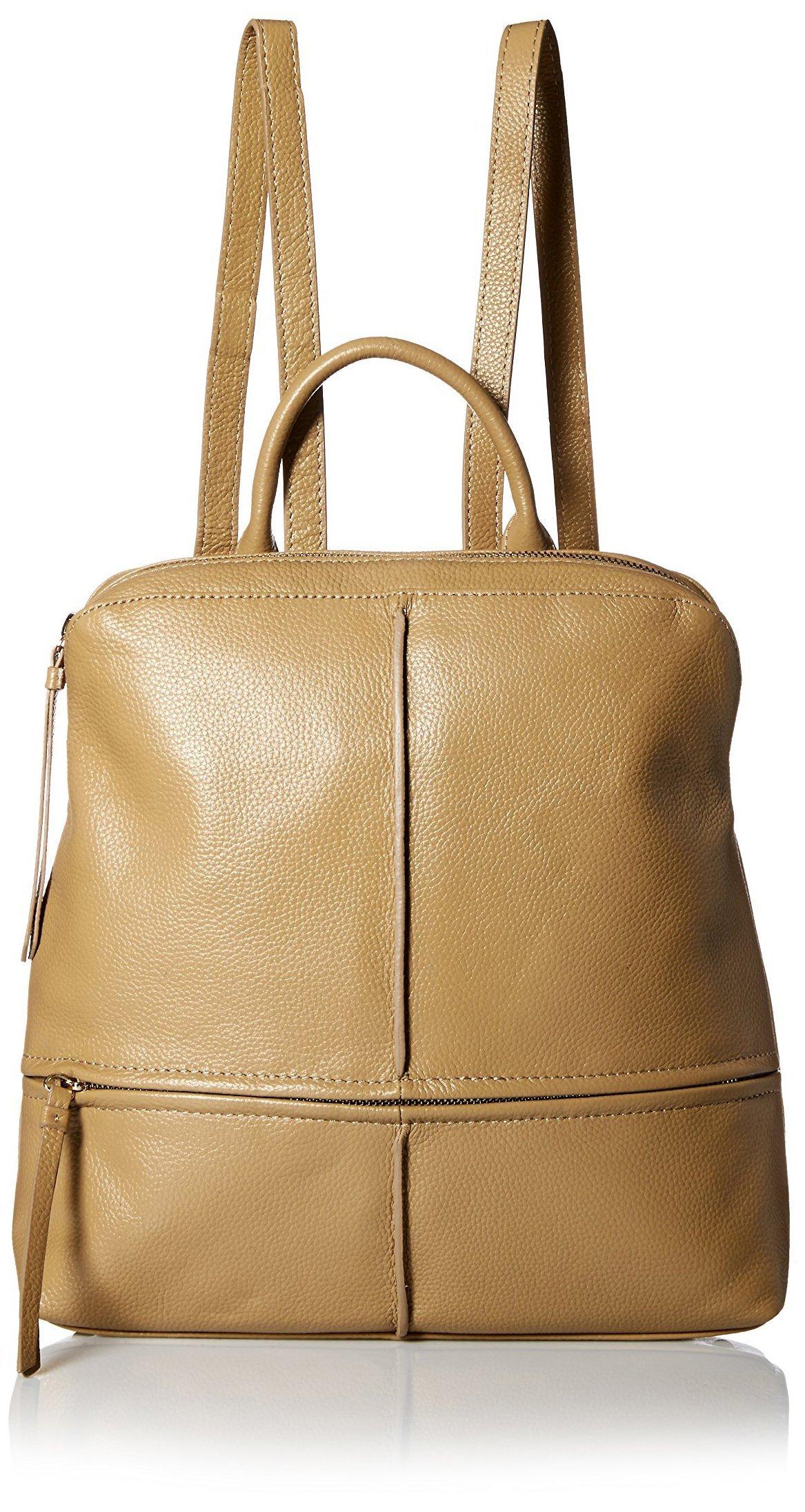 Zenith Women's Zipper Back pack, Taupe