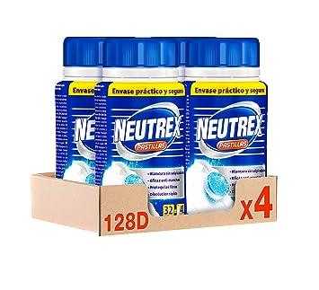 Neutrex Pastillas Efecto Lejía - Pack de 4, Total: 128 Pastillas ...