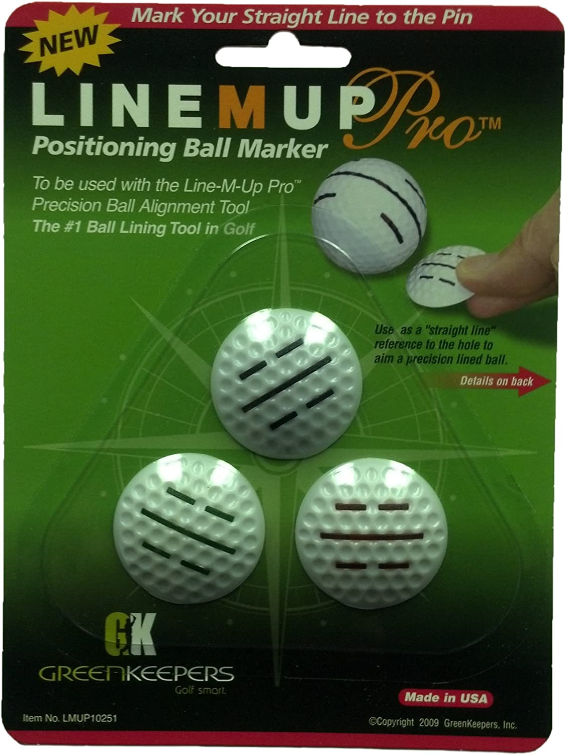 ProActive Line M Up Pro Positioning Ball Mark