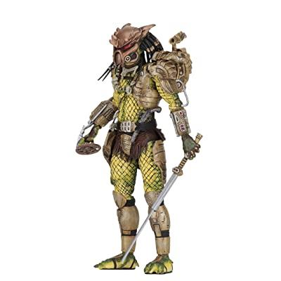 "NECA - Predator 2 - 7"" Scale Action Figure - Ultimate Elder: The Golden Angel: Toys & Games"