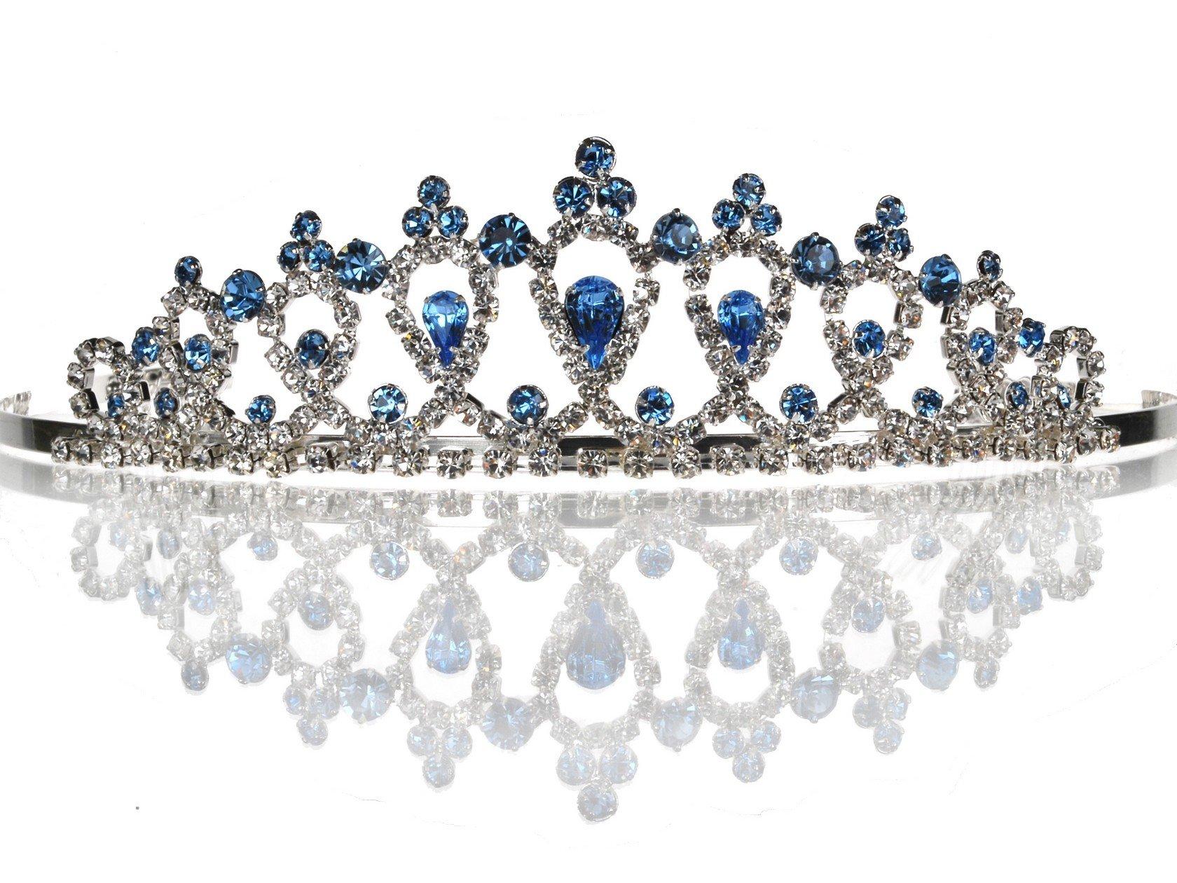 SparklyCrystal Bridal Wedding Tiara Crown 4346B5
