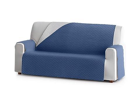 Eysa Oslo Protect Funda de sofá, 100% Poliester, 03/Azul, 4 ...