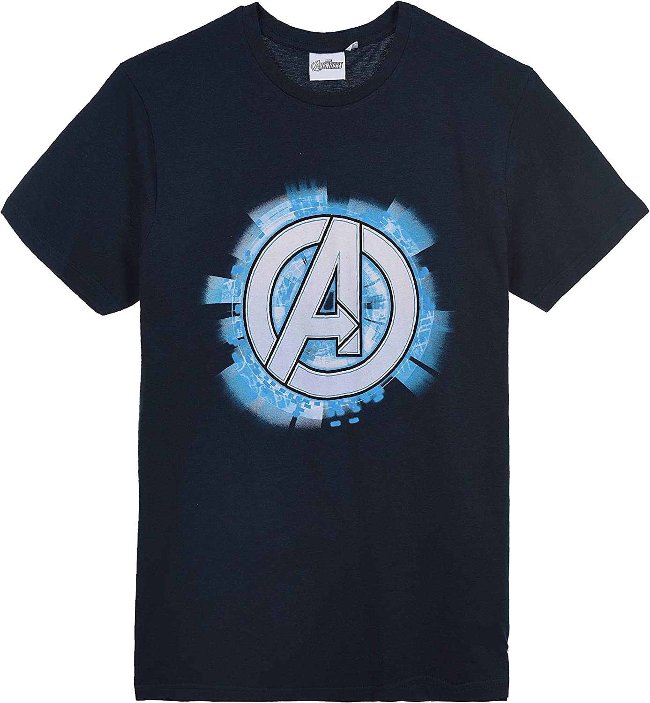 Avengers Hombre Camiseta De Manga Corta