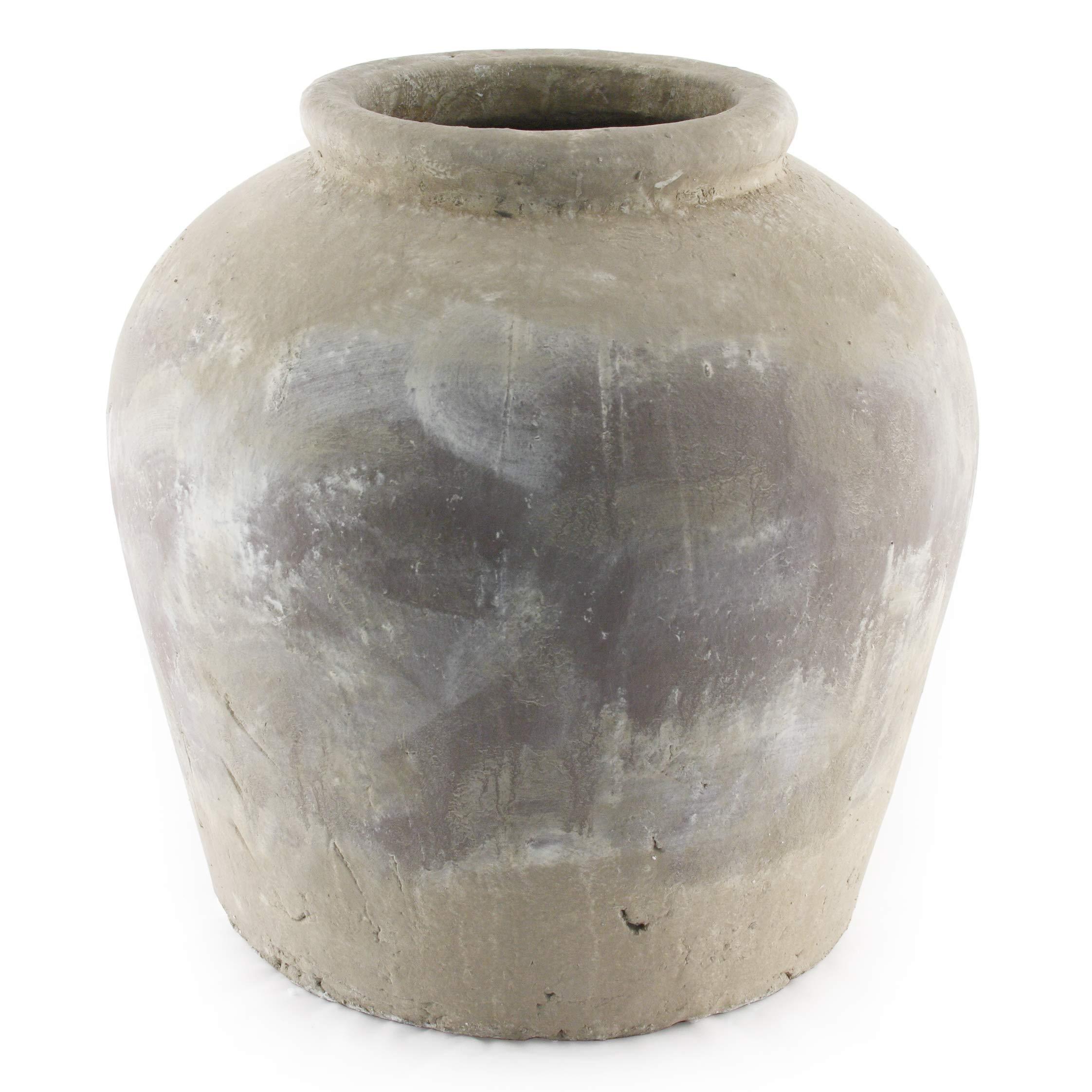 Zentique 4869L A292 Min. Qty. 1 Jar Distressed Olive Brown