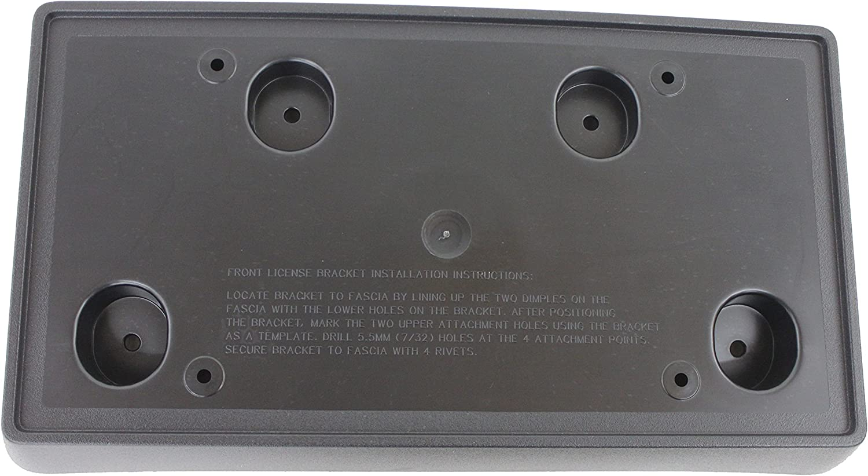 Buick GM OEM Front Bumper-License Plate Frame Bracket Holder Mount 25766506