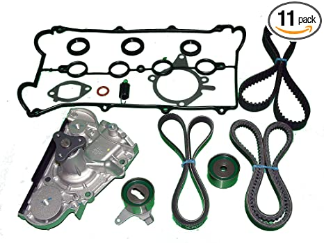 Amazon Com Tbk Timing Belt Kit Mazda Miata 1991 To 1993 With Both