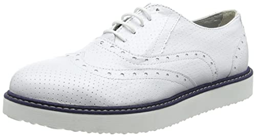 new product 390fc d2424 Ippon Vintage Andy-perfo1, Scarpe Stringate Derby Donna ...