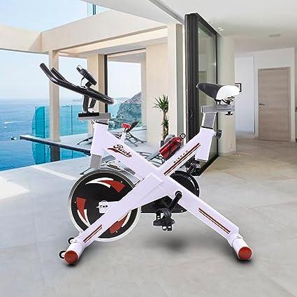 Riscko Bicicleta Spinning Pro Ergonomic, Sistema Silent MAX, Disco inercia 24kg Máxima Calidad,