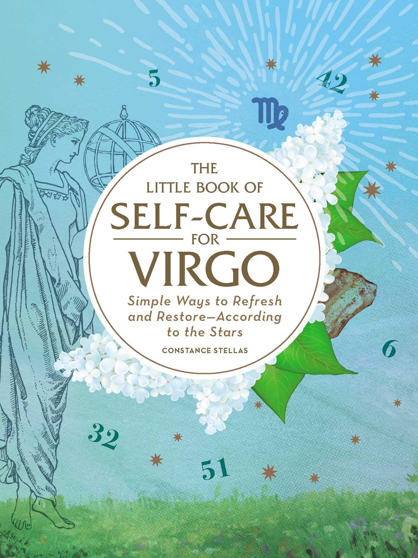 Little Book Self Care Virgo Restore According product image