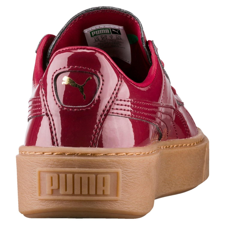 3776a8248172 PUMA Women s Basket Platform Patent WNS