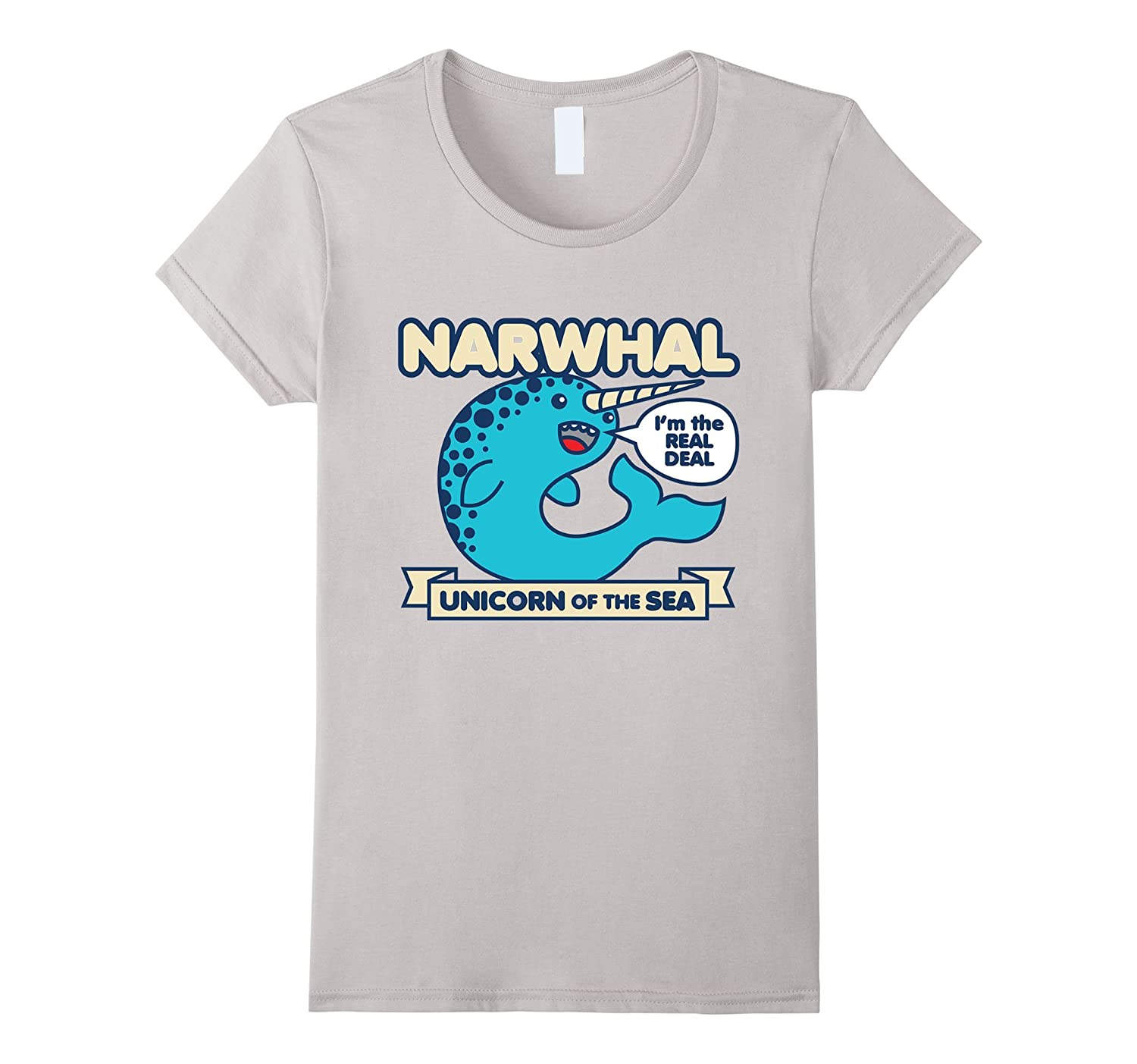 Narwhal, unicorn of the sea t-shirt