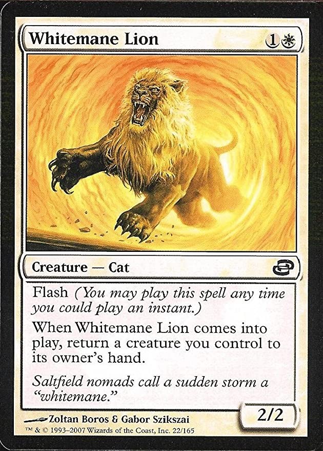 Whitemane Lion Magic The Gathering Planar Chaos