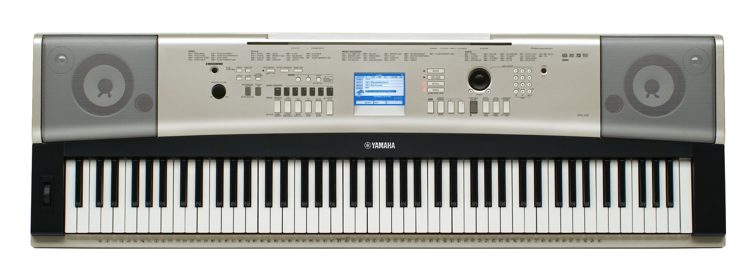 1. Yamaha YPG-535 Portable Grand Piano