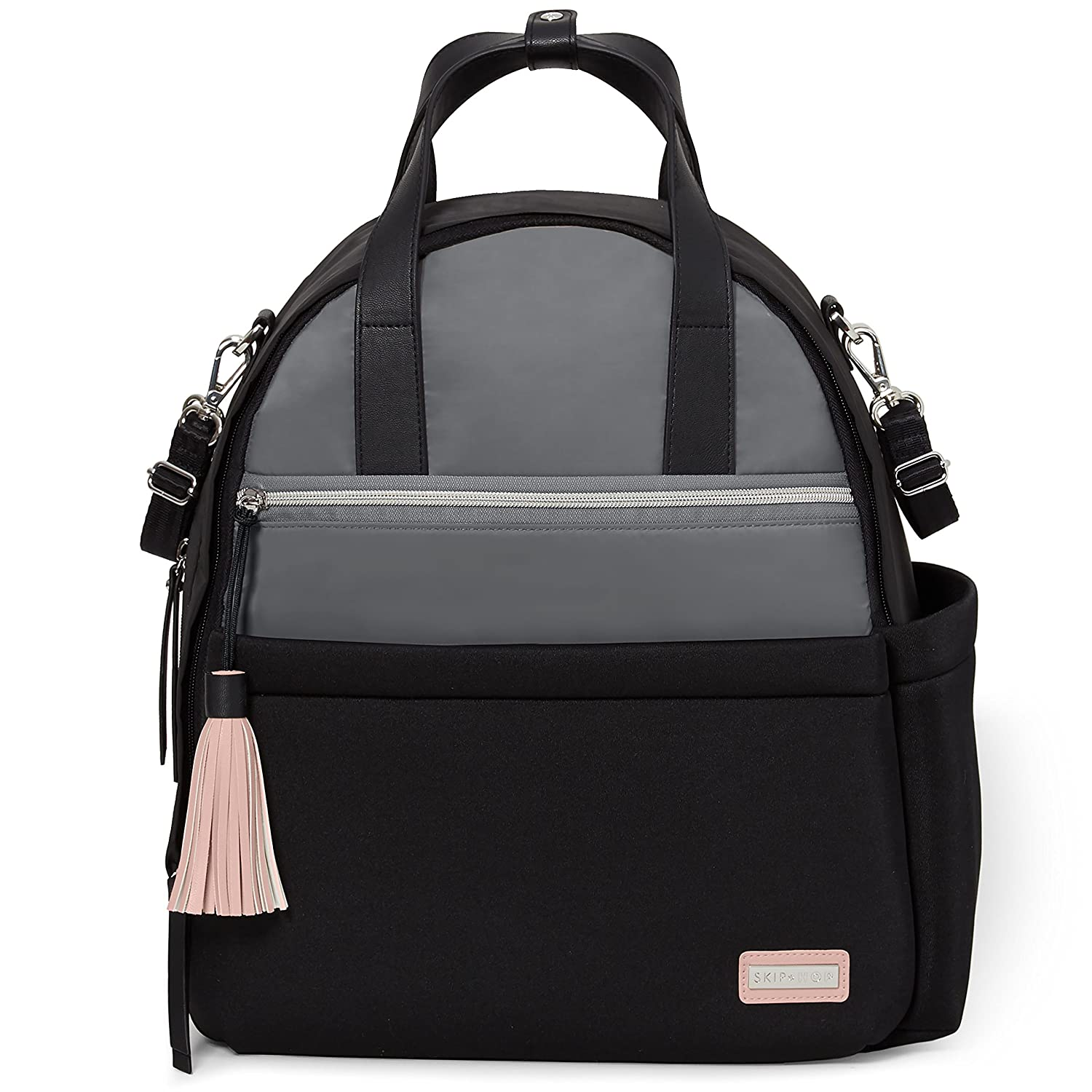 Skip Hop Nolita Neoprene Diaper Backpack - Black/Grey 204301