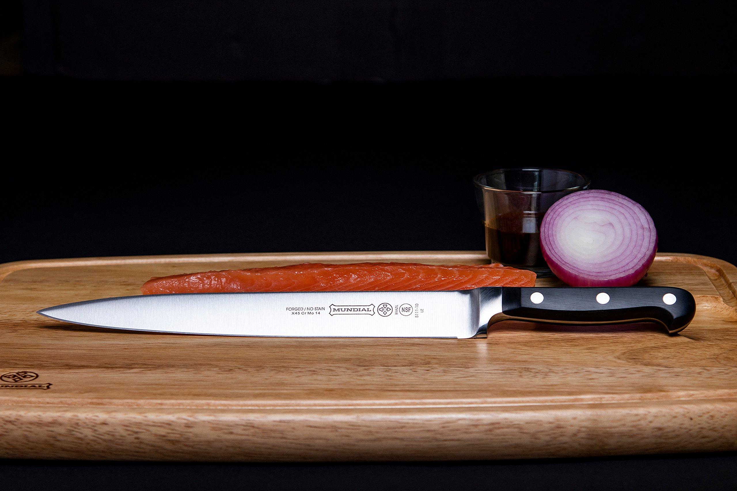 Mundial 5100 Series 10-Inch Carving Knife, Black