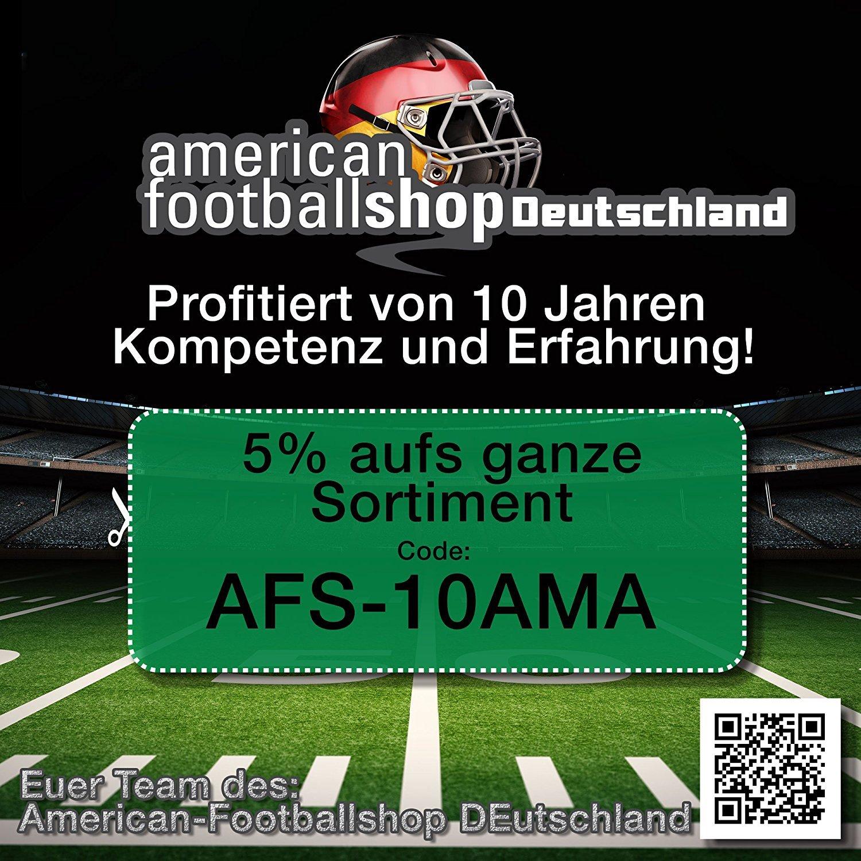 Amarillo Talla YL de 5/x l Full Force American Football Game Jersey