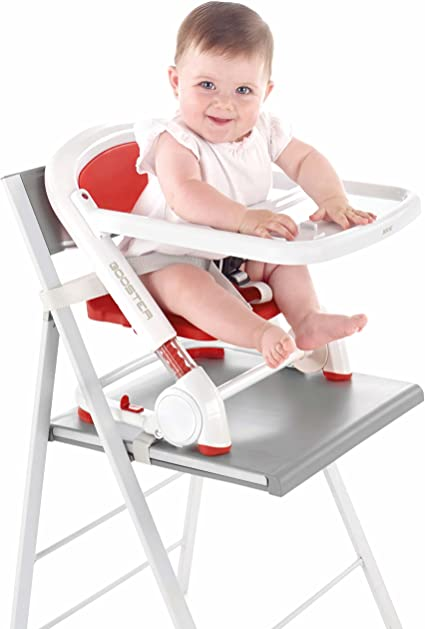 Jané Booster - Silla para bebés convertible en trona, color blanco ...