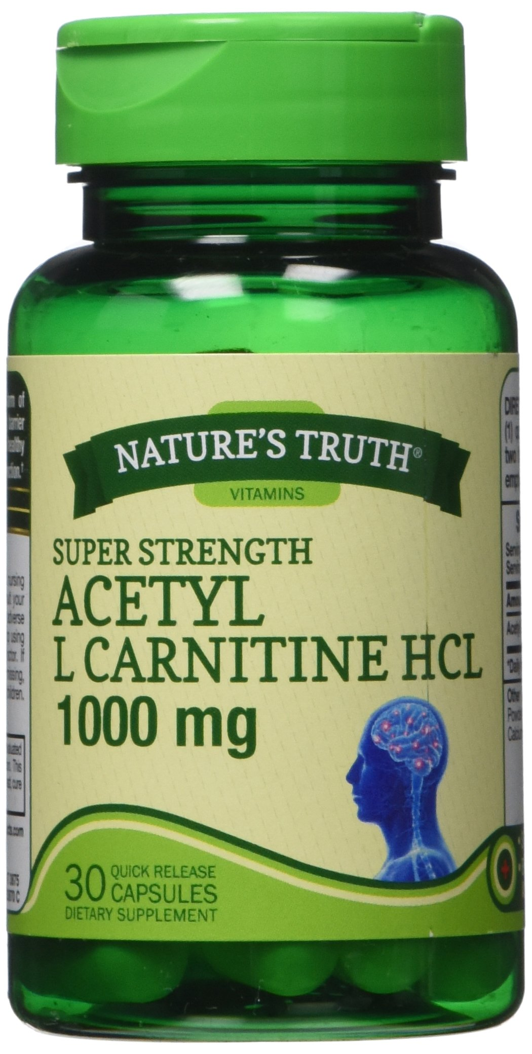 L Acetyl Carnitine Nature Made