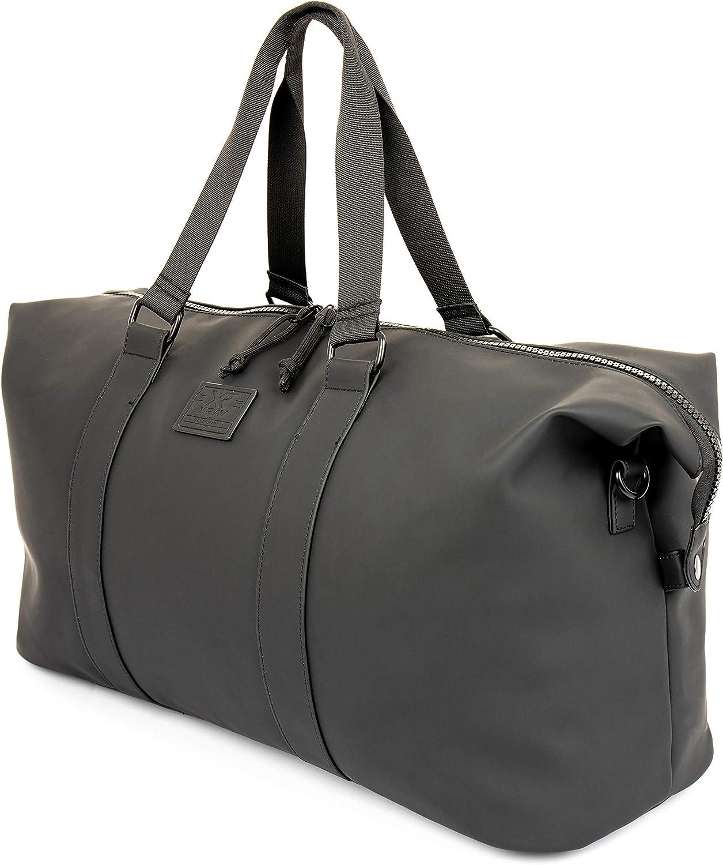 X RAY Weekender Bag For Men and Women, Waterproof Overnight Travel Duffel Bag