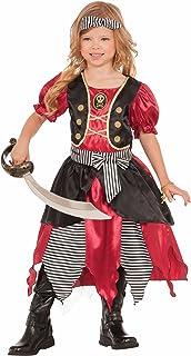 Forum Novelties Girls Buccaneer Princess Costume Multicolor Small  sc 1 st  Amazon.com & Amazon.com: Girls Ancient Greek Girl Costume Fancy Dress Up Party ...