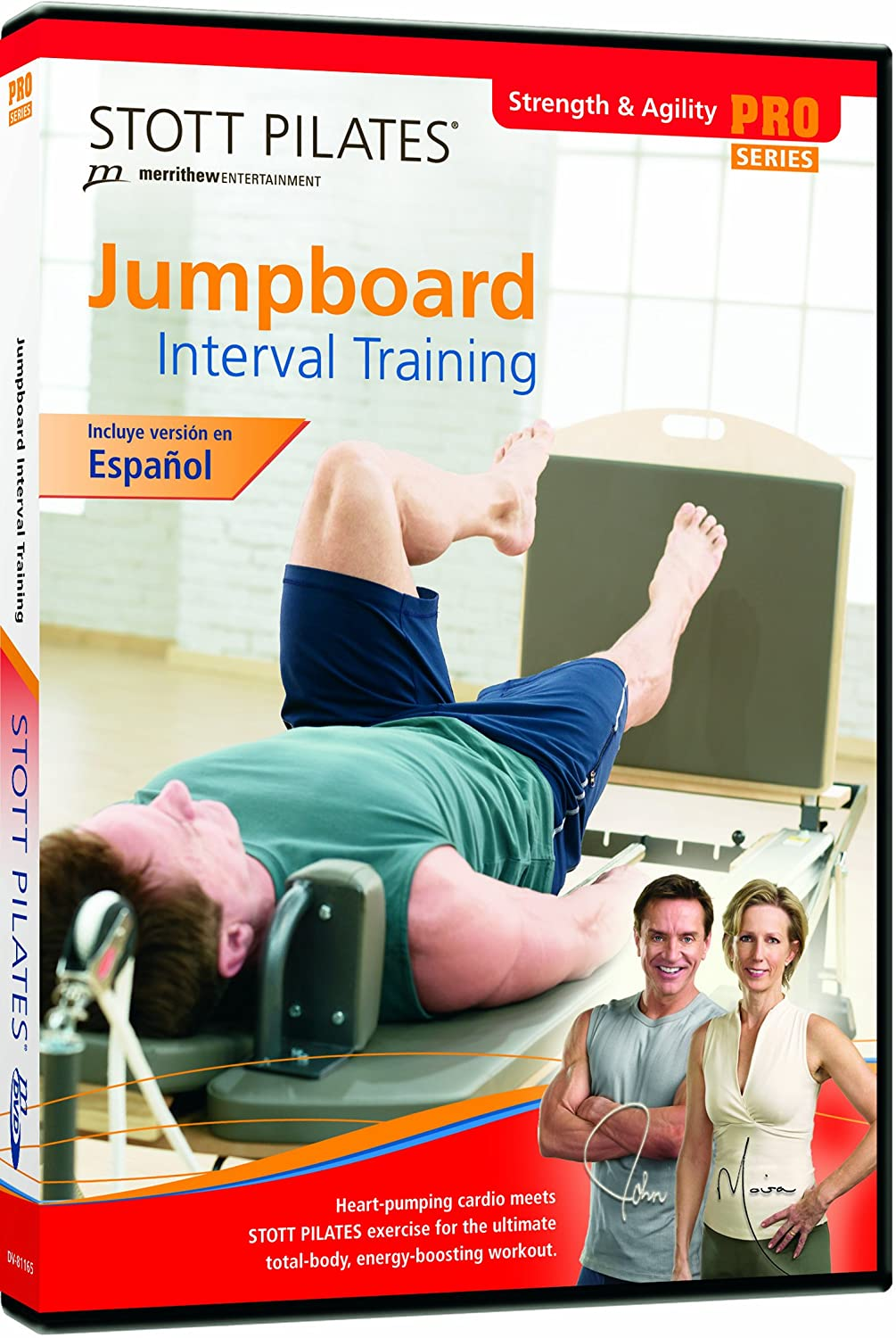 Stott Pilates: Jumpboard Interval Training DV-81165 Movie Fitness/Self-Help