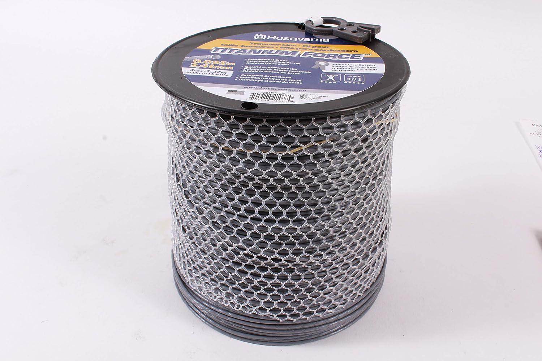 1-Pound .105-Inch B9 OEM Husqvarna 639005105 Titanium Force Trimmer Line