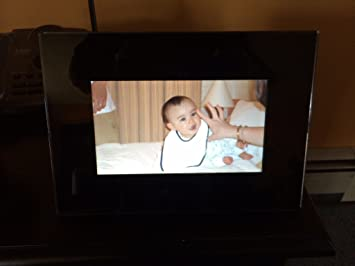 Amazoncom Insignia 7 Widescreen Lcd Digital Photo Frame Black