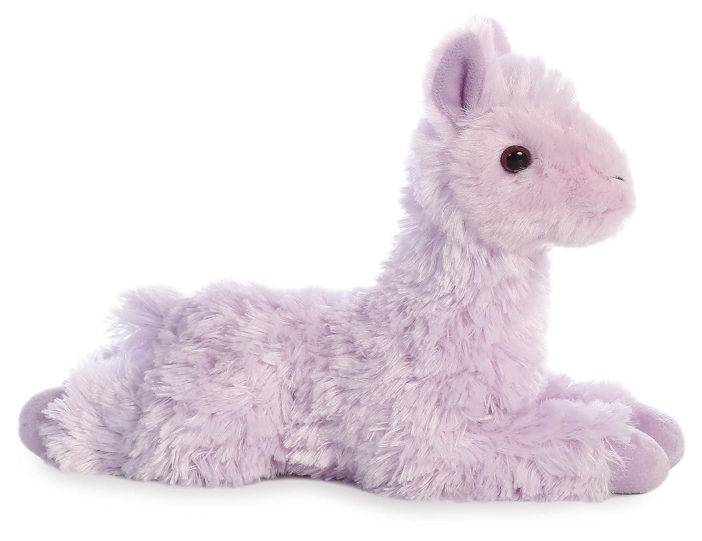 Pink Aurora World 8 Mini Flopsie Plush Toy Llama 31754