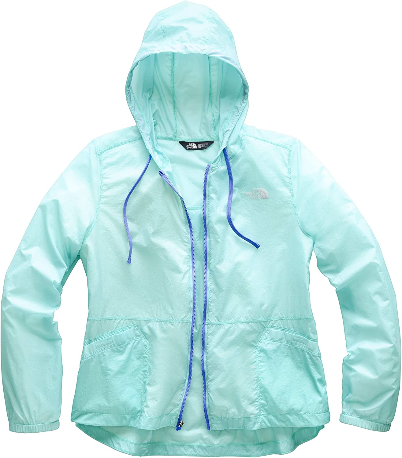 Amazon Com The North Face Women S Blue Rapids Full Zip Hoodie Clothing