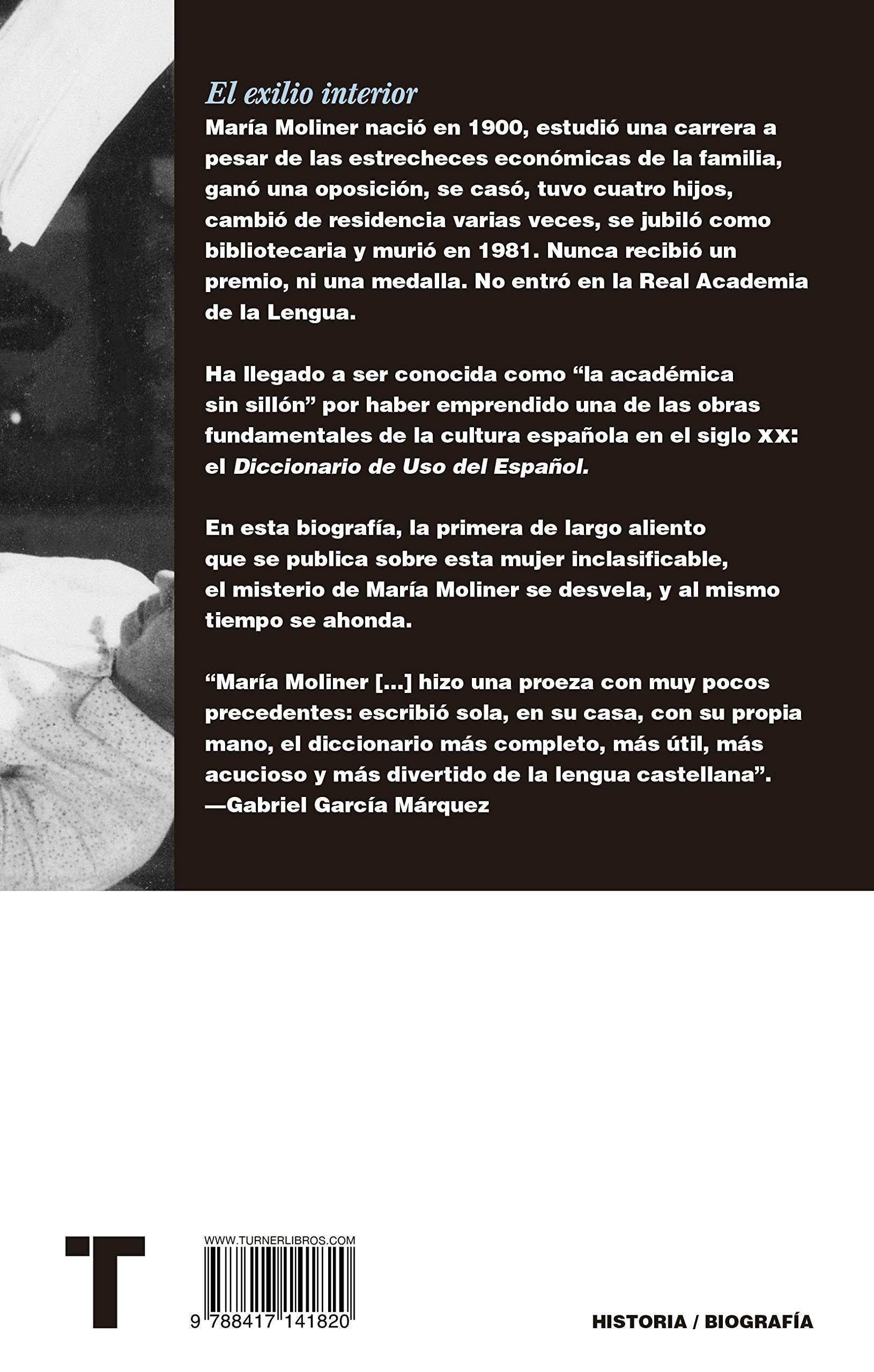 El exilio interior: La vida de María Moliner (Noema): Amazon ...