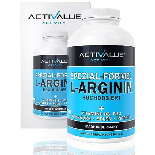 VERGLEICHSSIEGER 2018*: L-Arginin Spezial-Formel, das Erfolgsprodukt von Dr.med. Wagner, 4500mg L-Arginin HCL, verstärkt durc
