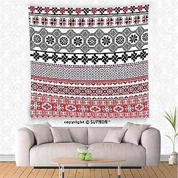 Amazon.com: VROSELV custom tapestry Ancient Decor Tapestry Ethnic ...