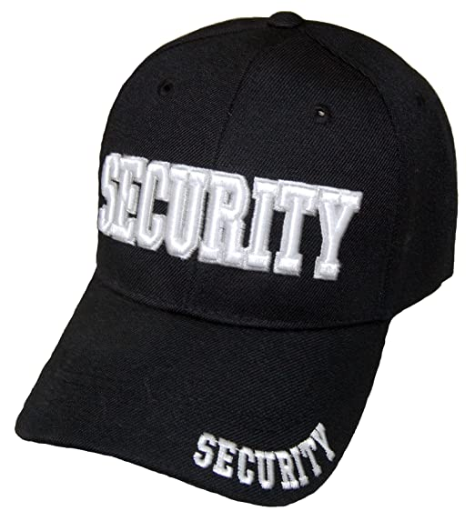 bbe6f85a5ff SECURITY GUARD OFFICER CAP EMBROIDERED BASEBALL CAP at Amazon Men s ...