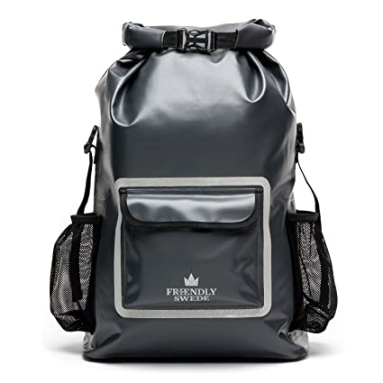 Image Unavailable. Image not available for. Color  The Friendly Swede Waterproof  Backpack Dry Bag 33L with Laptop ... 4971f2fa852b4