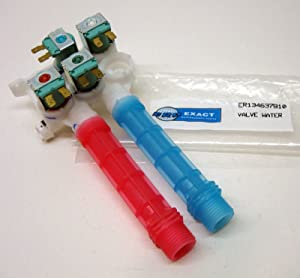 Washing Machine Water Valve for Frigidaire, AP4368791, PS2349248, 134637810