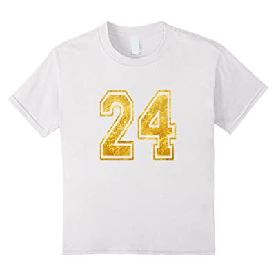 Player Number 24 T-Shirt